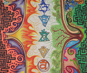 chakra, drugs, and mushroom image
