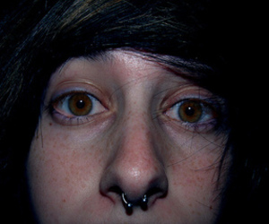 boy, eyes, and piercing image