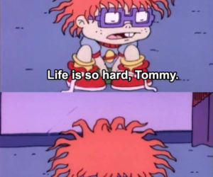 rugrats, life, and quotes image