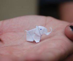 elephant, cute, and origami image