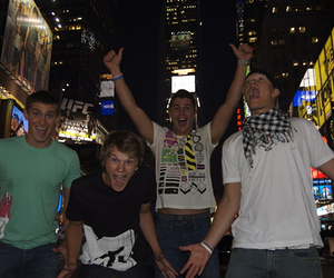 times square and the buried life image