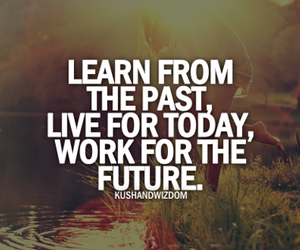 learn, future, and live image