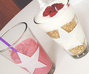 drink, pink, and star image