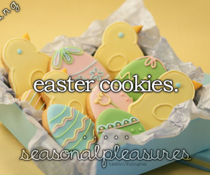 bunny, Chicken, and Cookies image