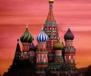 russia, moscow, and cathedral image