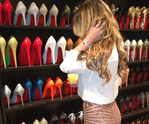 shoes, heels, and blonde image