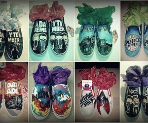 shoes, a day to remember, and sleeping with sirens image