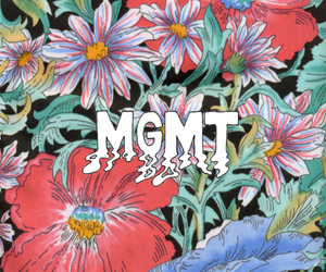 MGMT, flowers, and music image