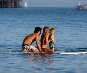family, surf, and love image