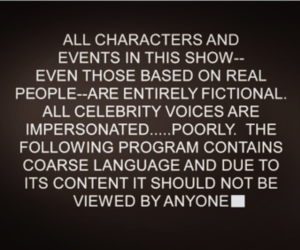 South park and typography image