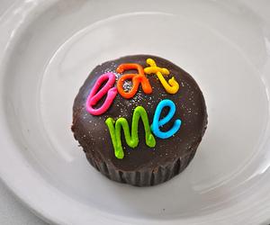 cupcake, food, and chocolate image
