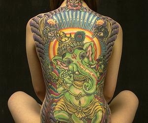 buda, tatoo, and cool image