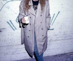 dave mustaine, coat, and megadeth image