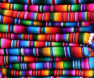 colors, mexico, and rainbow image