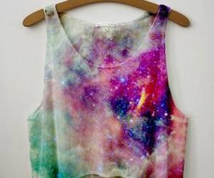 galaxy, shirt, and top image