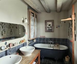 basin, bath tub, and interior image