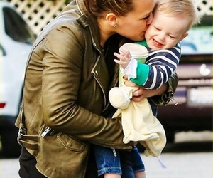 Hilary Duff, adorable, and baby image