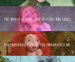 brave, disney, and frost image