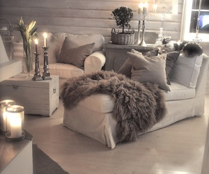 beauty, chilling, and living room image