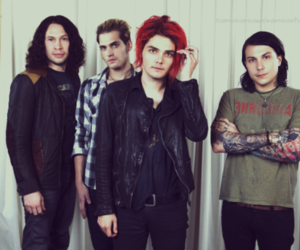 my chemical romance, gerard way, and mcr image