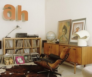 interiors, retro inspiration, and living room spaces image