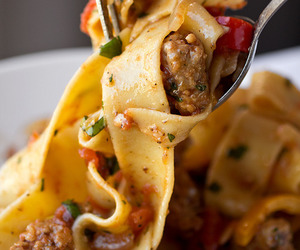 pasta, photography, and Yum! image