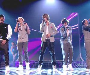 x factor 2010 and one direction image