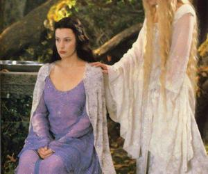 galadriel, arwen, and lord of the rings image