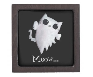 cat, dead, and ghost image