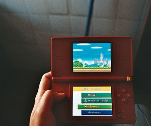 game, ds, and mario image
