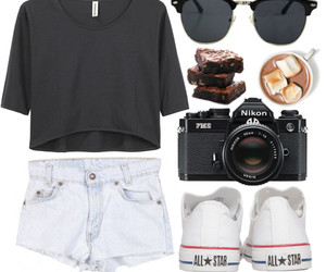 fashion, brownie, and camera image