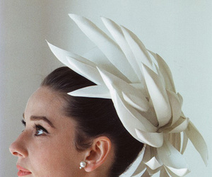 audrey hepburn, white, and beauty image
