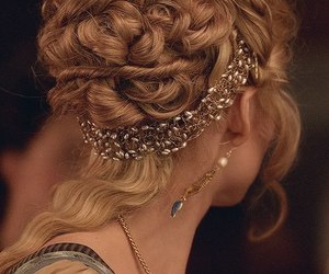 hair, pretty, and hairstyle image