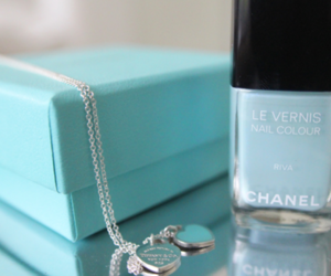 chanel, blue, and nails image