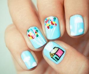 nails, up, and nail art image