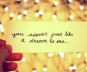 Dream, quote, and light image