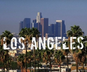 los angeles and city image