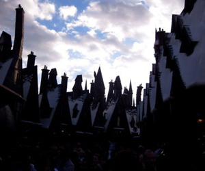 harry potter, theme park, and village image