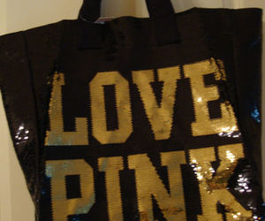 bag, pink, and sequin image