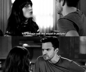new girl, people, and quote image