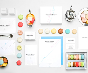 macaroons, food, and design image