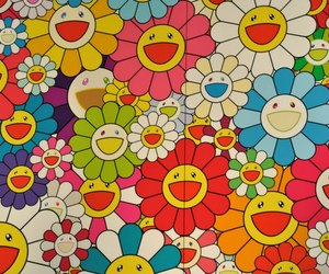 Takashi Murakami, aesthetic, and flowers image
