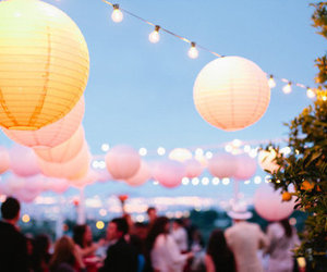 light, party, and lantern image