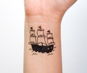 ship and tattoo image