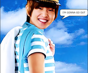 funny, Onew, and SHINee image