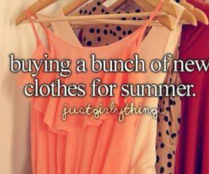 summer, clothes, and shopping image