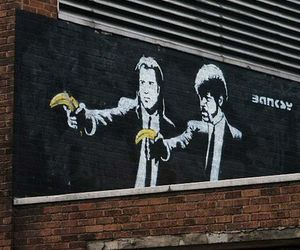 BANKSY, pulp fiction, and blanksy image
