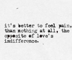 quote, love, and pain image