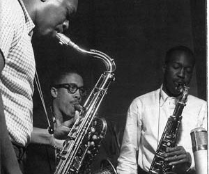 jazz, john coltrane, and johnny griffin image