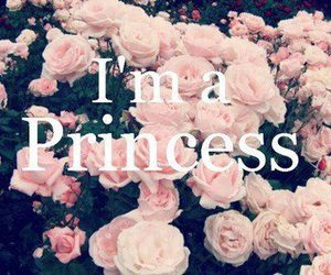 princess, pink, and rose image